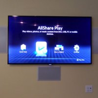 TV Wall Mount, Surround Sound, and Infrared System Installation