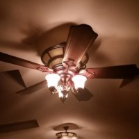 Ceiling Fan Installation with Light Kit