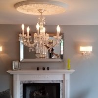 Chandelier & Sconce