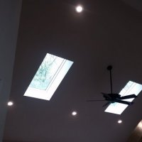 Sloped Recessed Lights